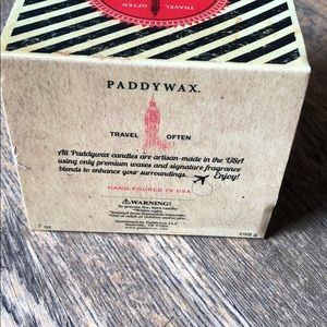 paddywax Accents - London tea leaves & bergamot Paddywax Candle